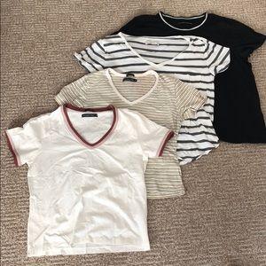 Abercrombie T shirt bundle